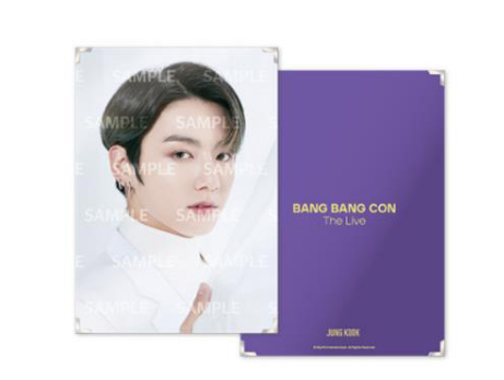 BTS BANGBANGCON The Live Official Merchandise - Premium Photo