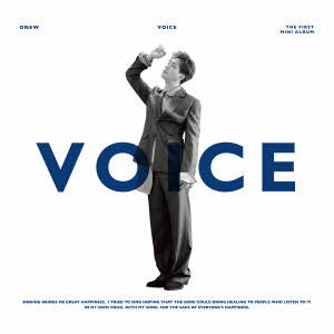 ONEW 1ST ALBUM - VOICE