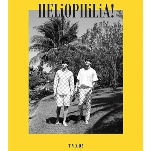 동방신기 TVXQ - HELiOPHiLiA! (Photobook + DVD + Handwritten Letters + Photo Cards + Poster)