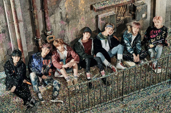 방탄소년단 BTS BANGTAN BOYS - You Never Walk Alone [RIGHT ver.] OFFICIAL POSTER