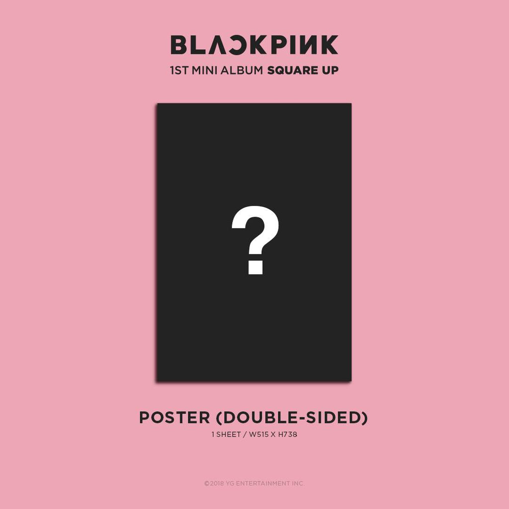 블랙핑크 BLACKPINK 1ST MINI ALBUM SQUARE UP