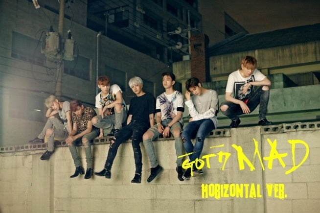 갓세븐 GOT7 - Mini Album [MAD] Horizontal Ver.