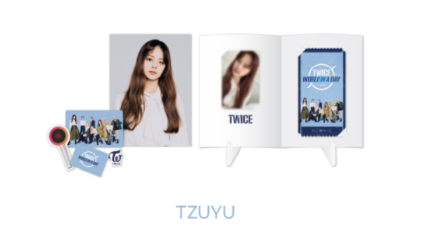 TWICE 2020 World in A Day Official Merchandise  - SPECIAL AR TICKET SET