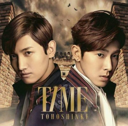 동방신기 Dong Bang Shin Ki - Time (CD+DVD) (Version A) (First Press Limited Edition) (Korea Version)
