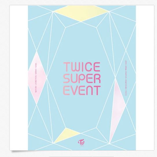 트와이스TWICE - TWICE SUPER EVENT DVD (1DISC) (LIMITED EDITION)