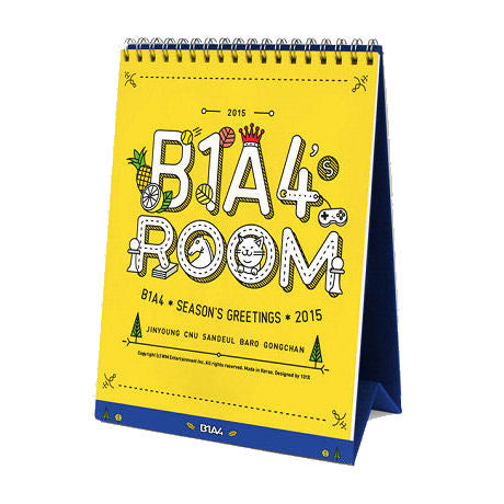 비원에이포 B1A4 2015 Season's Greetings