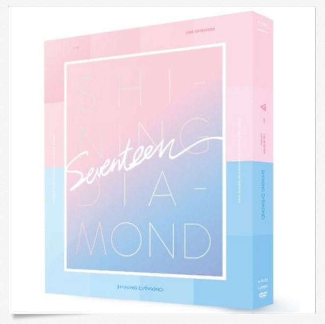 세븐틴 SEVENTEEN -  2016 LIKE SEVENTEEN-[SHINING DIAMOND] CONCERT DVD