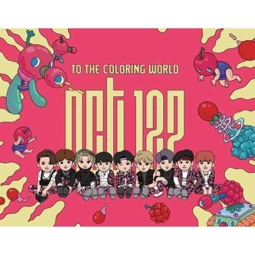 엔시티 NCT 127-[To The Coloring World! NCT127] 32p Coloring Paper Book SET