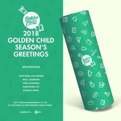 [Pre-Order] 골든차일드GOLDEN CHILD 2018 SEASON'S GREETINGS