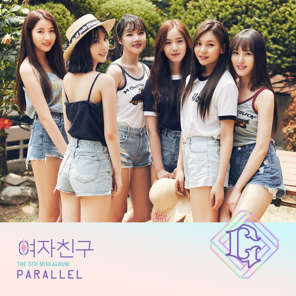 여자친구 GFRIEND 5th Mini Album [PARALLEL] (LOVE Ver.)