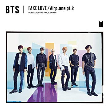 BTS Japanese Release - Fake Love Airplane pt. 2 Version A