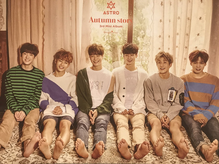 에스트로 ASTRO - Autumn Story UNFOLDED POSTER