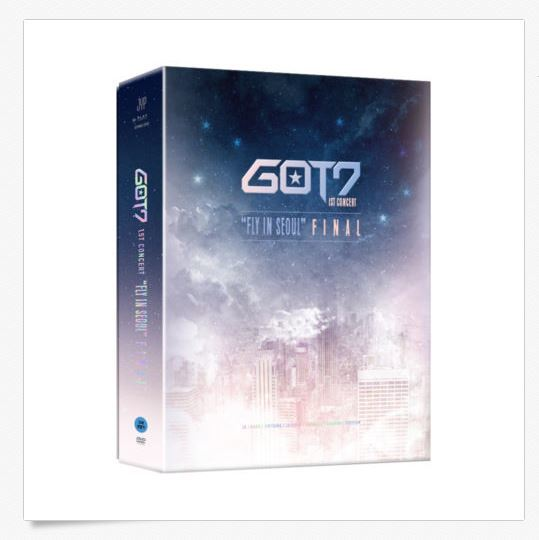 "갓세븐GOT7 1st CONCERT   ""FLY IN SEOUL"" FINAL DVD"