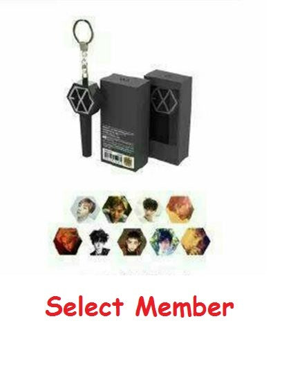 EXO MINI KEYRING - BLACK (9KINDS)