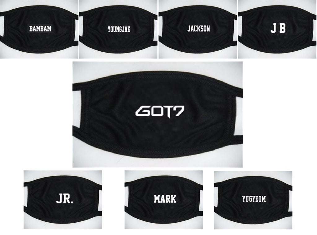 갓세븐 GOT7 KPOP FACE MOUTH MASK