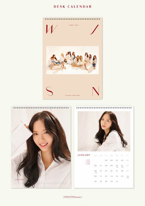WJSN 2019 SEASON'S GREETINGS