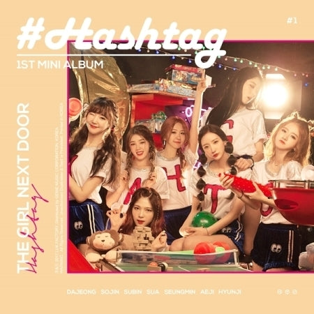 [Pre-Order] 해시 태그HASH TAG 1ST MINI ALBUM - THE GIRL NEXT DOOR