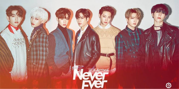 갓세븐 GOT7 - Arrival UNFOLDED POSTER (Never Ver.)