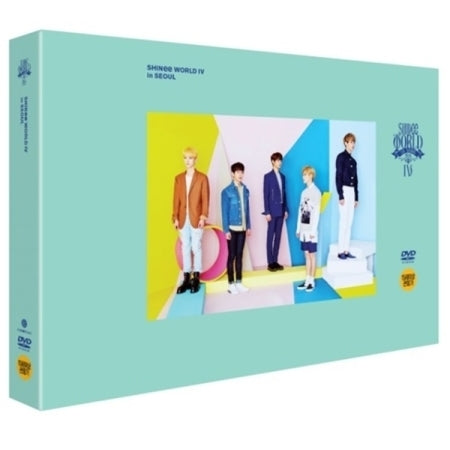 샤이니 SHINEE – 4TH CONCERT [SHINEE WORLD IV] 2 DVDS + SPECIAL COLOR PHOTO CARD BOOK