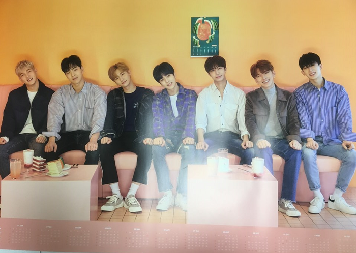 Monsta X 2018 Season's Greetings Official Poster - Photo Concept 1