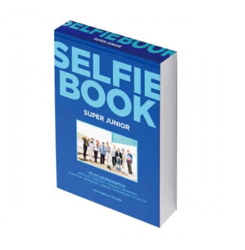 [Pre-Order] Super Junior Official Goods - SELFIE BOOK