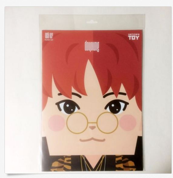 엔시티 NCT127 2nd Mini Album Limitless Official Paper Toy