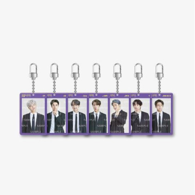 BTS BANGBANGCON The Live Official Merchandise - Lenticular Keyring