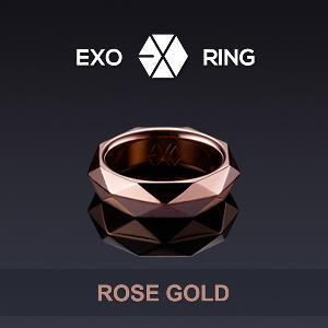 엑소 EXO - OFFICIAL RING (ROSE GOLD)