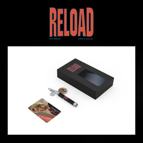 [Pre-Order] NCT DREAM Reload Goods - PHOTO PROJECTION KEYRING