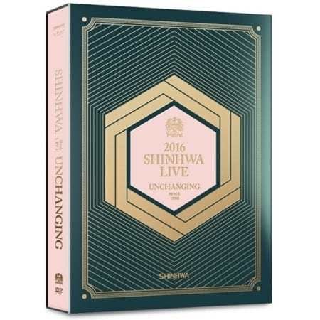 신화 SHINHWA - 2016 SHINHWA LIVE UNCHANGING DVD (2 DISC)