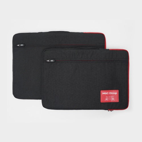 BTS MIC Drop Official Merchandise - 15.6 Inch Notebook Pouch