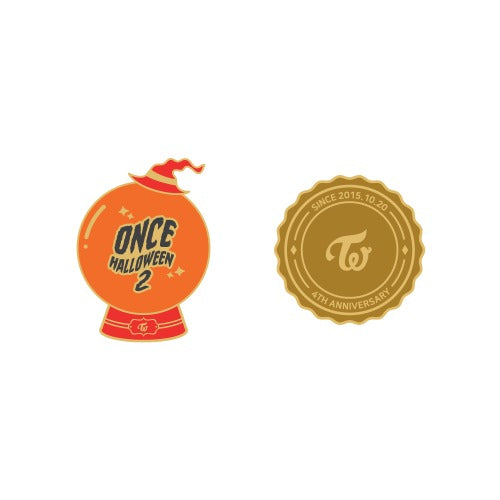 TWICE ONCE HALLOWEEN 2 GOODS - PIN BADGE 2