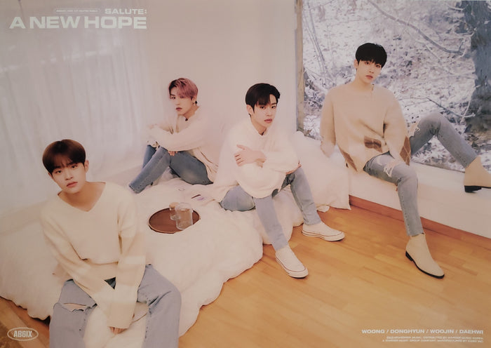 AB6IX 3rd EP Repackage Album SALUTE : A NEW HOPE Official Poster - Photo Concept Hope
