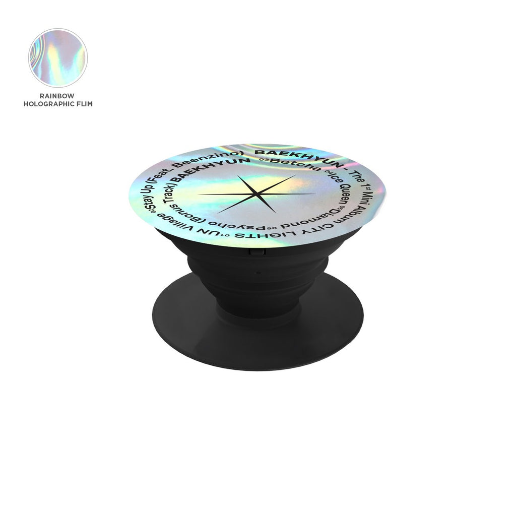 BAEKHYUN 'City Lights' Logo Hologram Poppin Holder