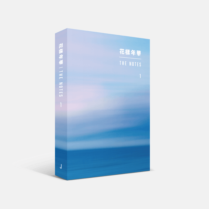 [Pre-Order] BTS 花樣年華 [THE MOST BEAUTIFUL MOMENT IN LIFE] THE NOTES 1 (JAPANESE VER.)
