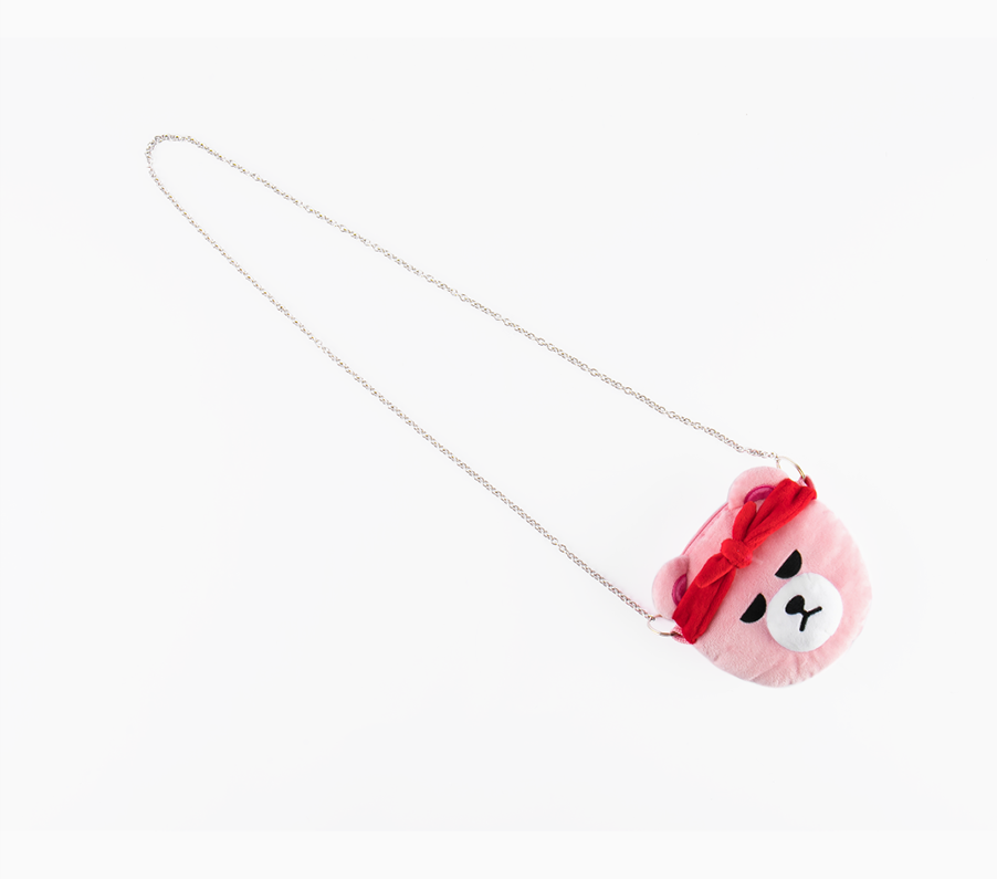 BLACKPINK [IN YOUR AREA] KRUNK X BLACKPINK OFFICIAL GOODS - MINI ROUND CROSS BAG
