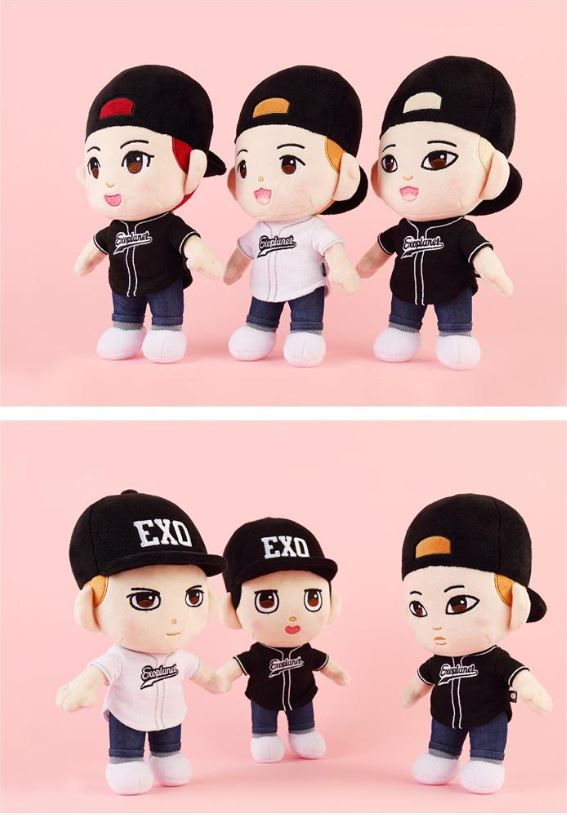 EXO OFFICIAL PLUSH DOLL