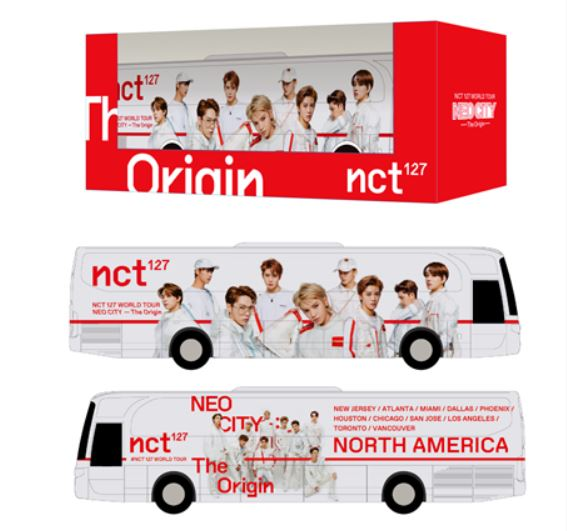 [PRE-ORDER] NCT 127 [NEO CITY] Official MD - Miniature Neo City Tour Bus