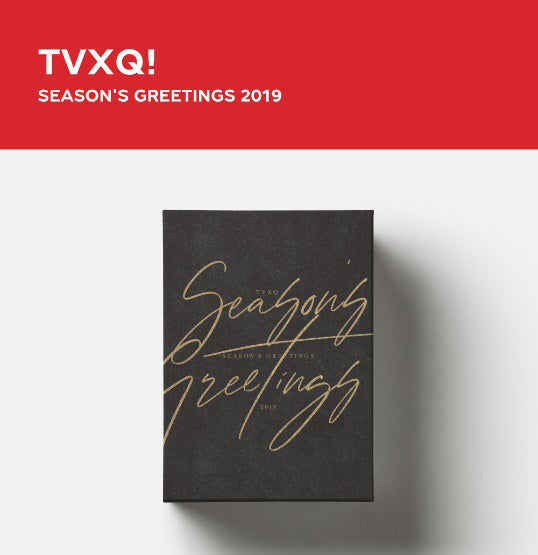 [Pre-Order] TVXQ 2019 SEASON'S GREETINGS