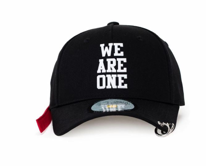 EXO SM Official We Are One Dad Hat with Long Strap and Rings
