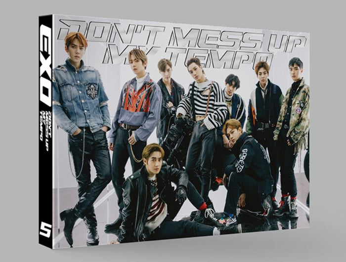 [LIMITED EDITION] EXO 5th Album - DON'T MESS UP MY TEMPO (VIVACE VERSION)