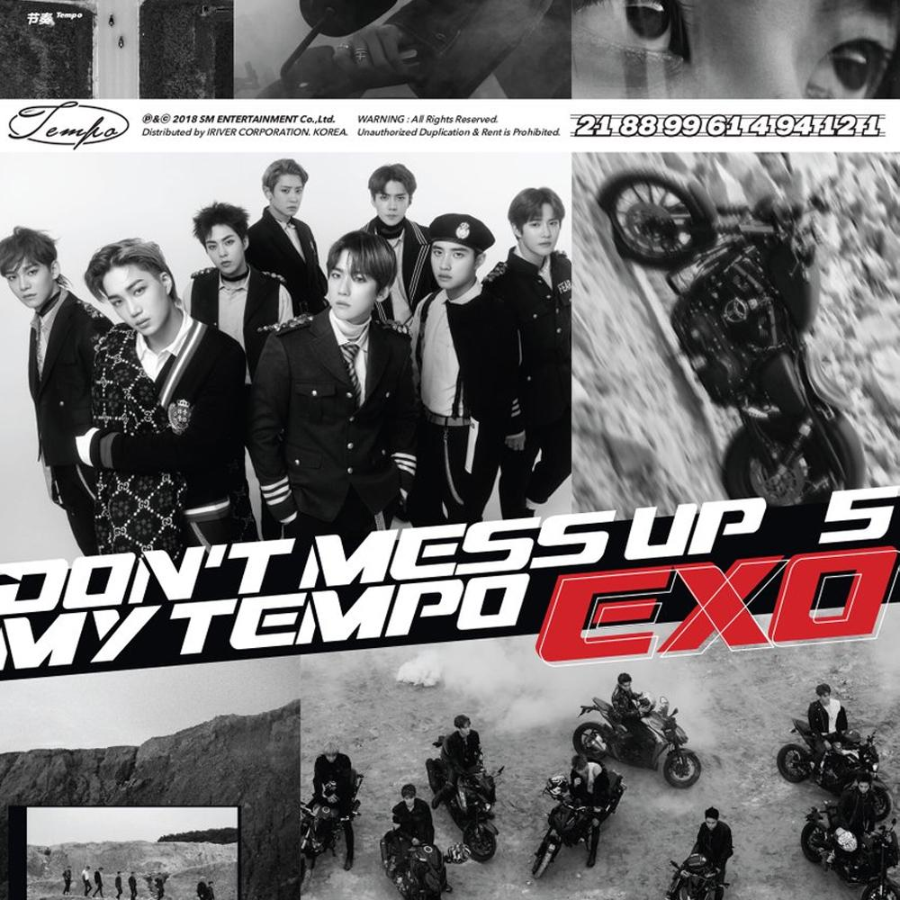 Tempo Exo Album Art – Fashionsneakers club