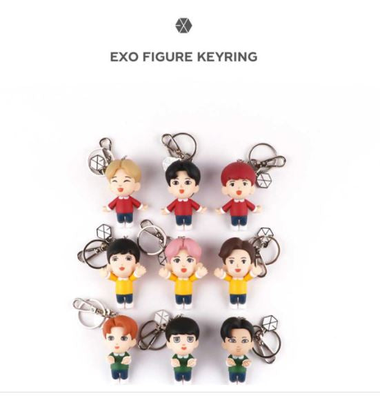EXO SMTOWN Official Goods - Figure Key Ring