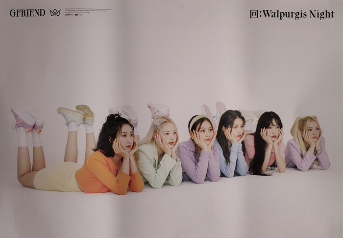 GFRIEND Album 回:Walpurgis Night Official Poster - Photo Concept Group 2