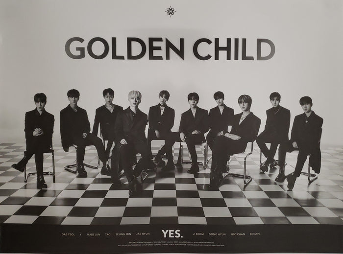 Golden Child 5th Mini Album YES. Official Poster - Photo Concept 2