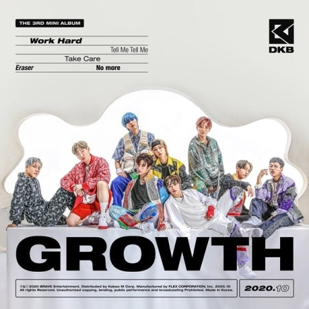 [Pre-Order] DKB 3rd Mini Album - GROWTH