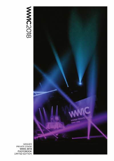WINNER LIMITED EDITION PRIVATE STAGE WWIC 2018 PHOTOBOOK