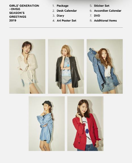 [FREE SHIPPING/LIMITED STOCK] GIRLS GENERATION [OH!GG] 2019 SEASON'S GREETINGS