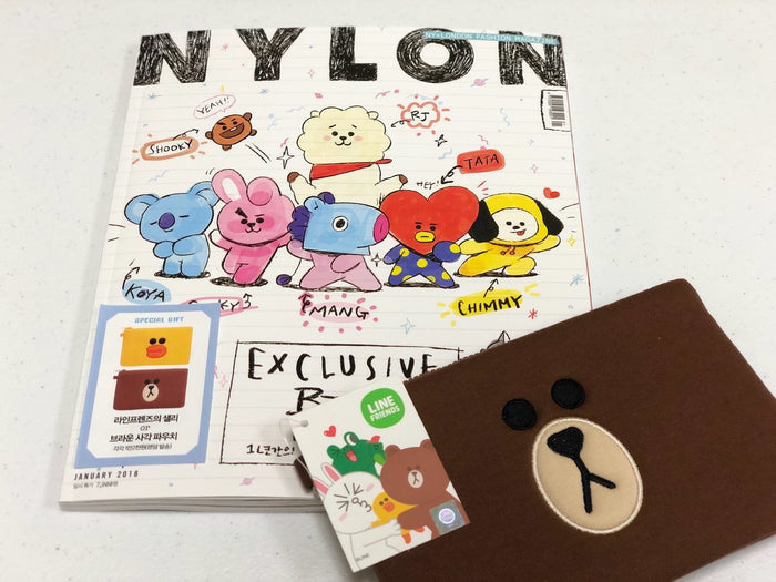 NYLON MAGAZINE 2018-1 BT21