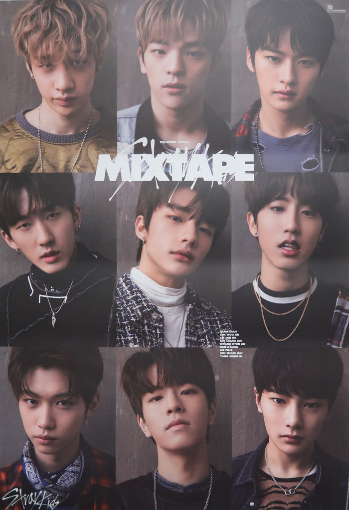 Stray Kids 'MIXTAPE' Official Poster - Photo Concept 1